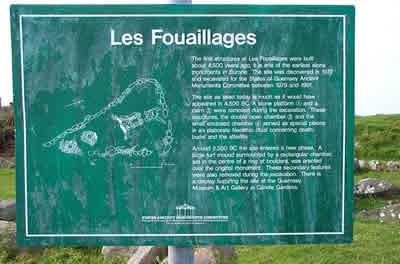 Les Fouaillages site plan