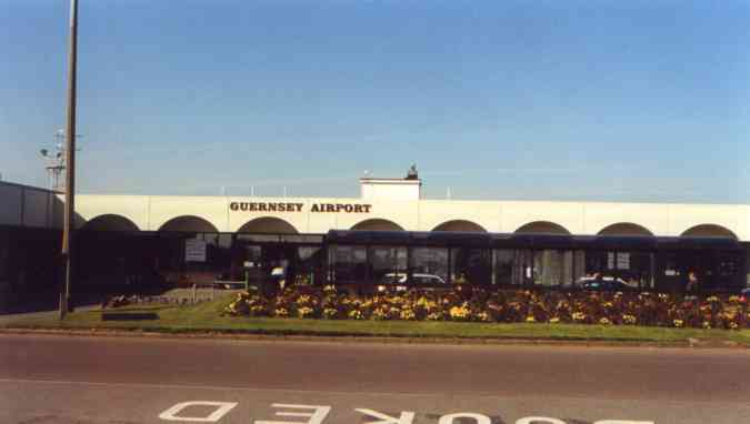 Old airport terminal Guernsey