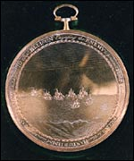 Jean Breton's Medal. Image (c) States of Guernsey
