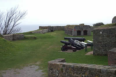 Clarence Battery Facing east